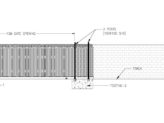 Sliding Gate SGTM 10M